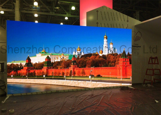 Custom digital SMD LED Display With 2 years Warranty 500 - 3000HZ Refresh Rate