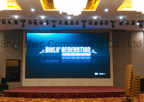 Full color Stage Rental LED Display for advertising black MBI5124 CE / FCC