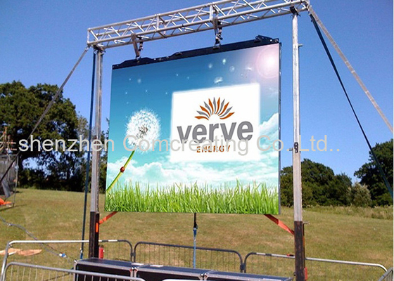 P10 Meanwell Energy Flexible Led Display Panels Video Wall IP65