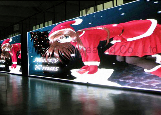 Chiny Indoor Full Color Commercial Advertsiing Panel wyświetlacza LED P2.5 Super High Definition LED Video Wall do celów reklamowych dostawca