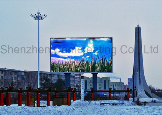 Chiny Wodoodporny Big Outdoor Pełny Kolor LED Video Display Advertiting P10 SMD Elektroniczne LED Digital Billboardy dostawca