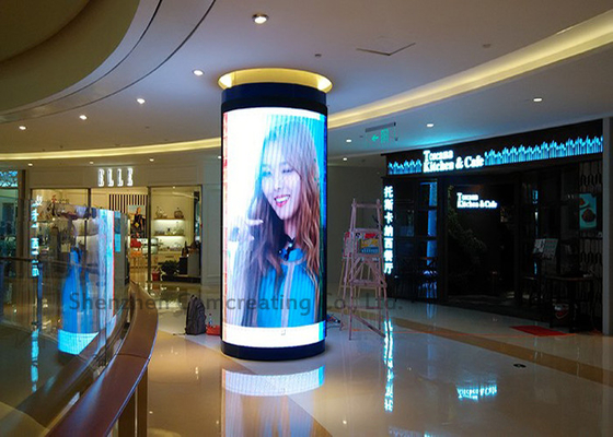 Good View Indoor P3 Custom LED Display Full color Curved Led Sign Module in Shopping Center