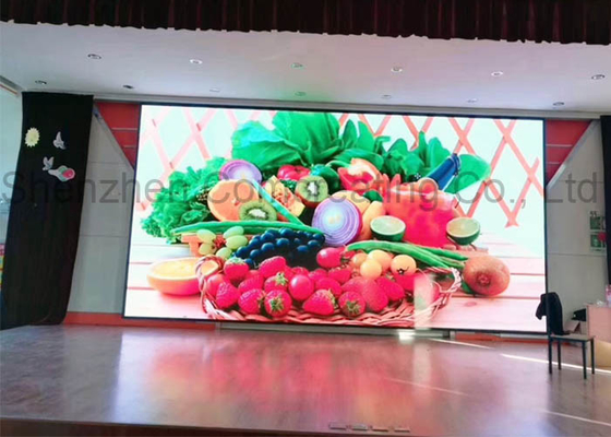 Chiny Dostosowane 1R1G1B Full Color Kryty Led Video Wall Smd Hd 1.923mm Pixel Pitch dostawca