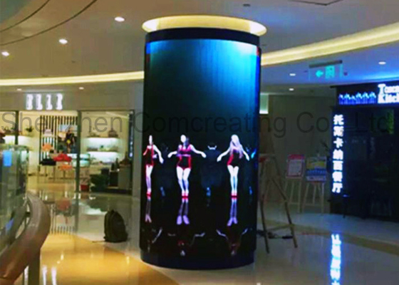 Chiny OEM Customized SMD P6 HD Kolumna Pełny Kolor LED Video Ściany Front Service Led reklamy Display Board For Shopping Mall dystrybutor